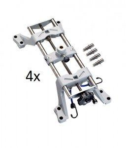 multi-fit mérőfej tartó 4x